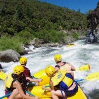 Whitewater Rafting in the Sierra Nevada Foothills